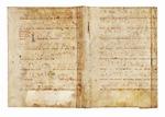 Manoscritto liturgico da antifonario