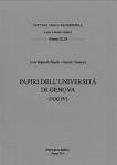 Vol.46 - Papiri dell'Università di Genova (PUG IV)